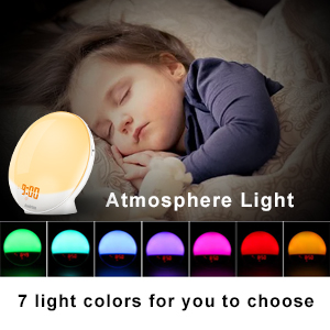 Colored atmosphere light