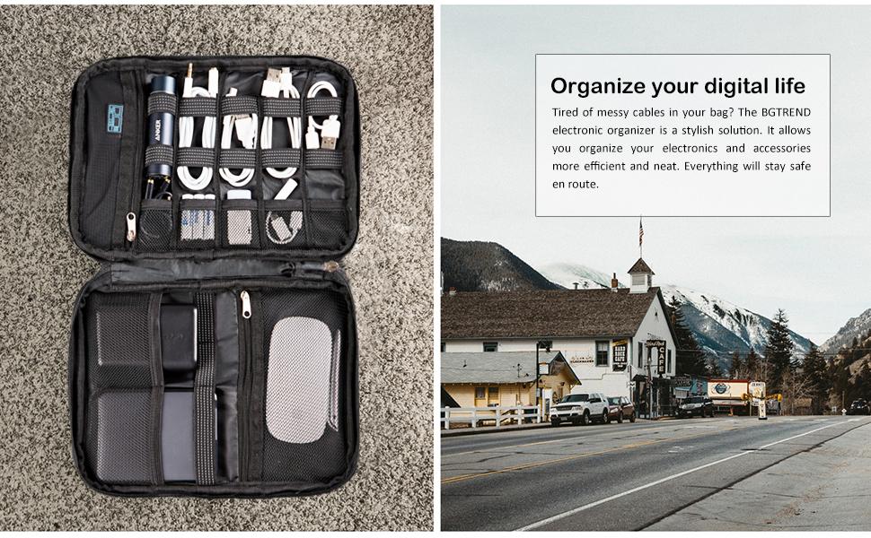 Electronic travel organizer