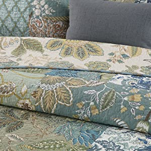 print quilt set decorative