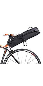bike saddle bag seat bag bicycle saddle seat bag large