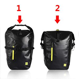 bike bag bike panniers pannier bag bike back rack bag waterproof panniers