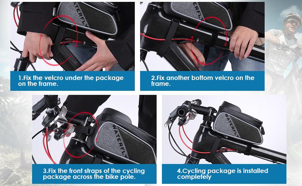 bike bag bike handlebar bag bike phone bag bike frame bag