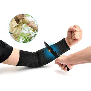 2X Armschutz Unterarmschütze Anti Schnitt Brennen Resistent Arm Sleeve PE Nylon