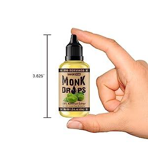 monk drops bottle