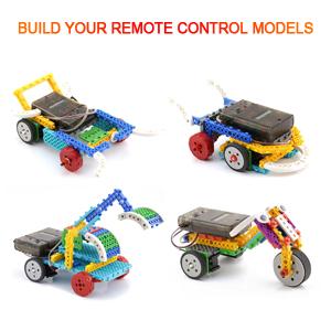 remote control building kits for kids rc machines construction set w 127pcs. Black Bedroom Furniture Sets. Home Design Ideas
