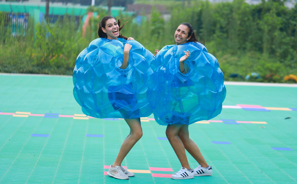outdoor activities for adults. New Choice For Outdoor Activities. These Giant Wearable Inflatable Bumper Balls Are This Summer\u0027s Hottest Toy. Great Kids And Adults Alike, They The Activities