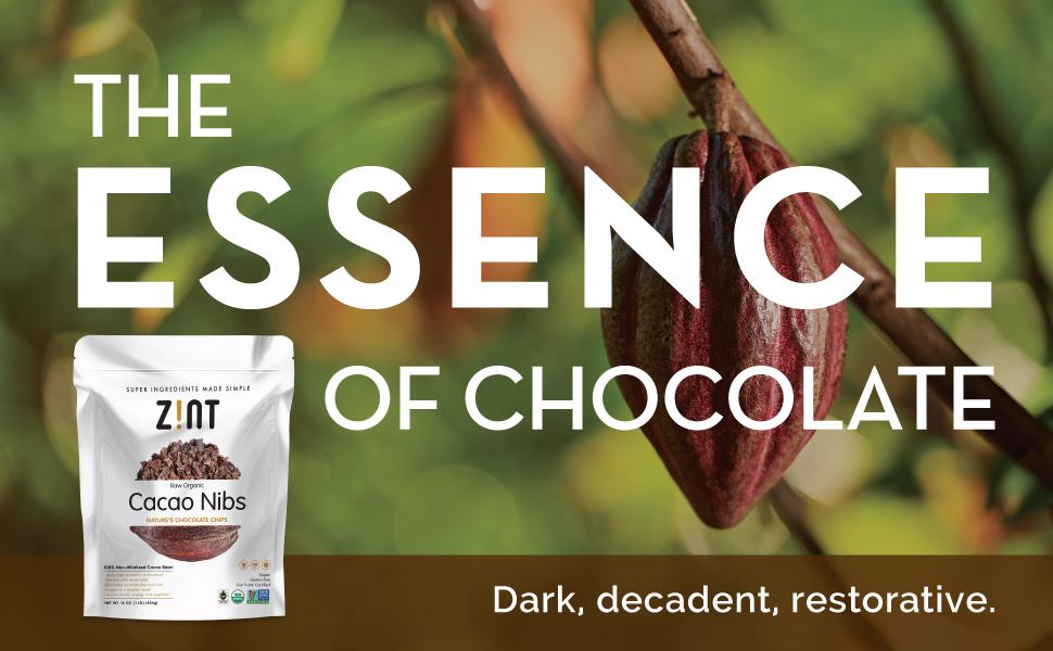 organic cacao nibs cocoa beans chocolate coco powder