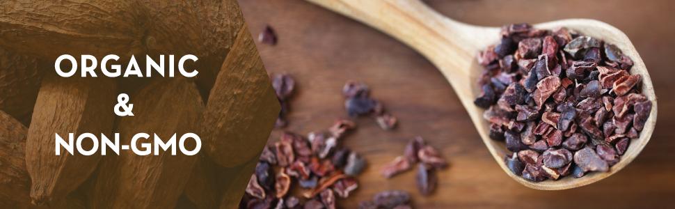 usda organic non-gmo project verified cacao nibs pure