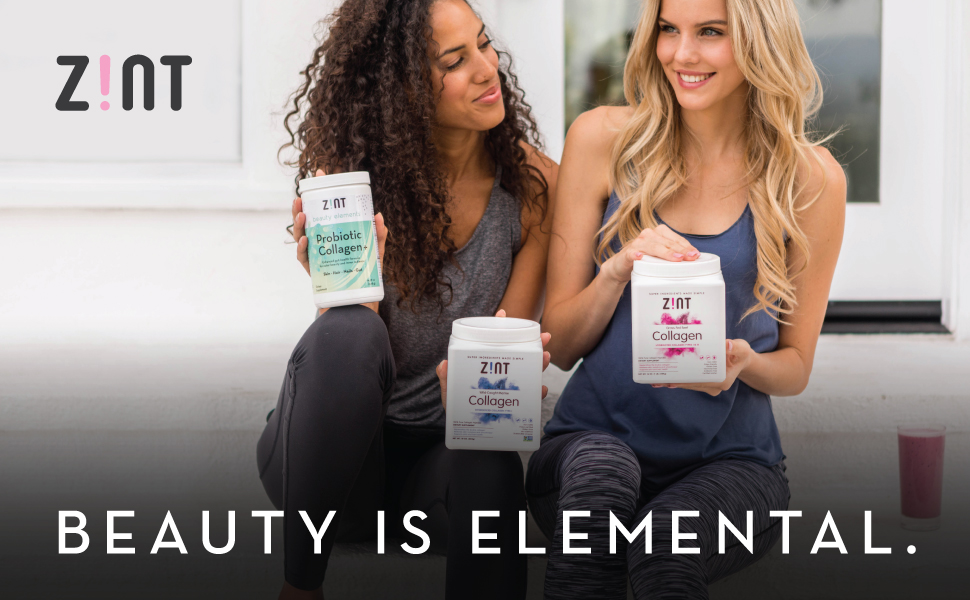 zint beauty collagen powder peptides hydrolysate protein