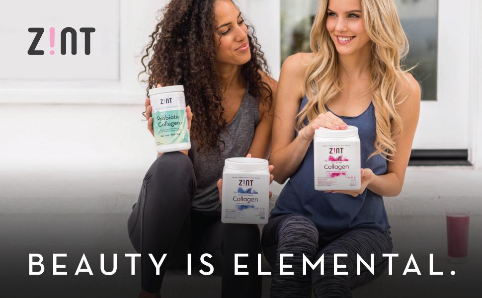 zint collagen gelatin powder peptides beauty protein
