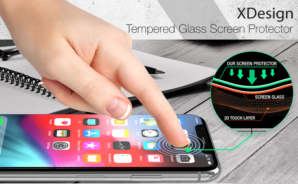 XDesign iPhone 6.1-inch screen protector