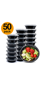 16ounce meal prep containers