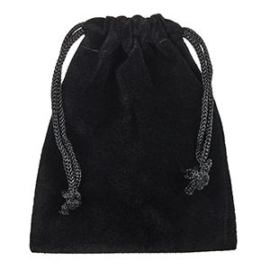 gift giving ready black velvet anti-tarnish resistant box bag pouch carrying case