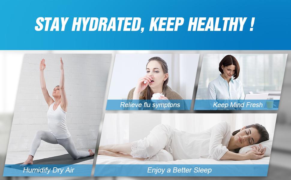 Amazon.com: Humidificador de vapor frío – humidificador ...