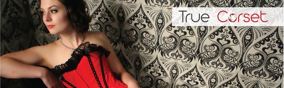 true corset, playgirl, steel boned corset, moulin rouge, sexy, fancy dress, carnival, weight loss