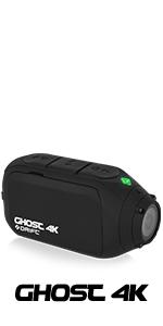 Drift Ghost 4K Action Camera 10-010-00 Helmet Camera Motorcycle Camera DVR Liver Streaming Battery