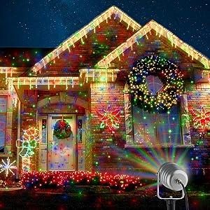 Amazon.com : Starry Laser Lights Landscape Projector Lights Outdoor ...