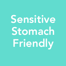 Sensitive stomach friendly