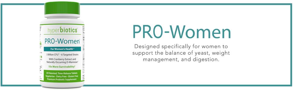 Hyperbiotics PRO-Women Probiotics