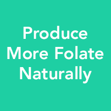 Produce more folate naturally