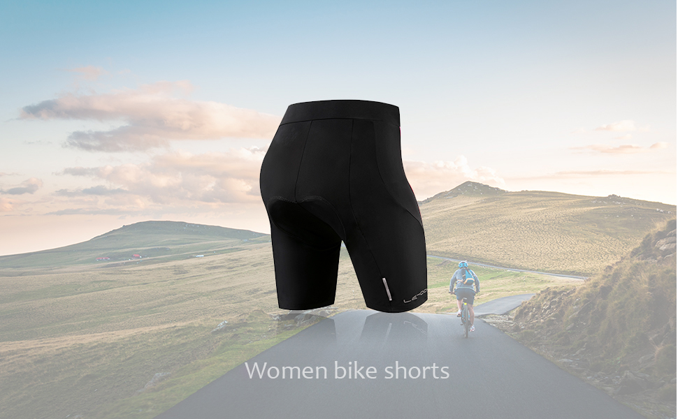 Letook Women Bike Shorts With 3d Gel Padded Breathable Cycling Shorts Outdoor Clothing, Shoes & Accessories Cycling Clothing