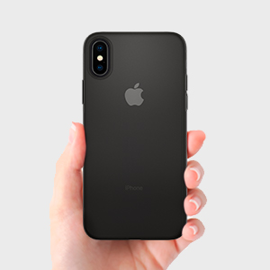 first rate e62ea 7a1c4 Spigen Air Skin Designed for Apple iPhone Xs MAX Case (2018) - Black