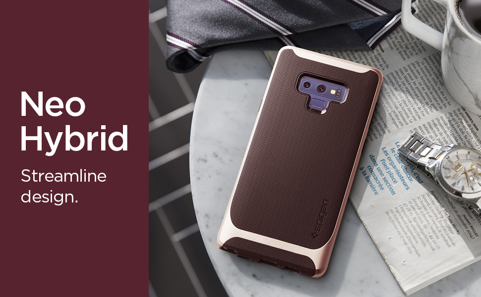 huge discount 4dacb 2b32e Spigen Neo Hybrid Designed for Galaxy Note 9 Case (2018) - Burgundy
