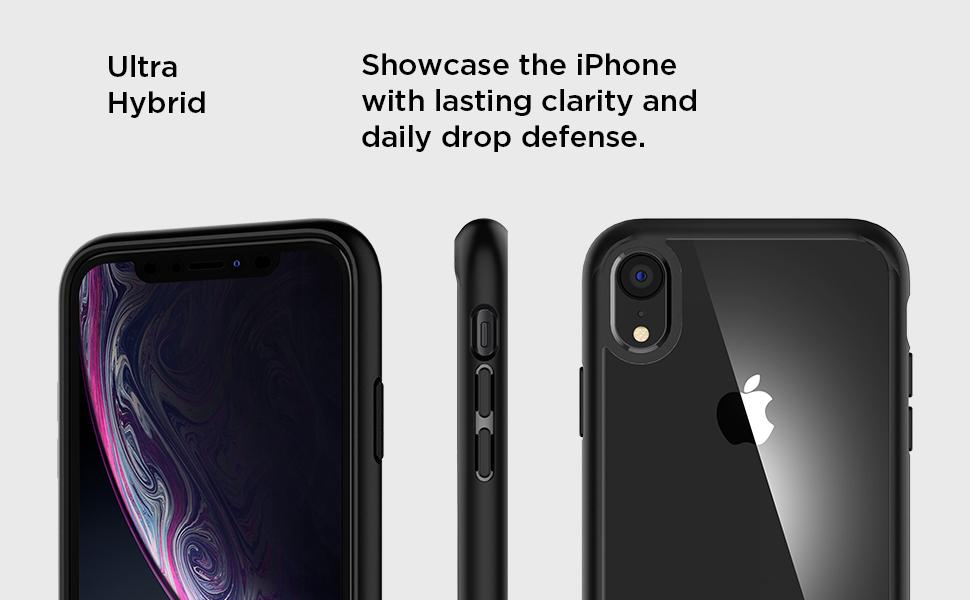 Amazon.com: Spigen Ultra Hybrid Designed for Apple iPhone