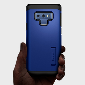 new arrival 6e6af 97a70 Spigen Tough Armor Designed for Galaxy Note 9 Case (2018) - Ocean Blue