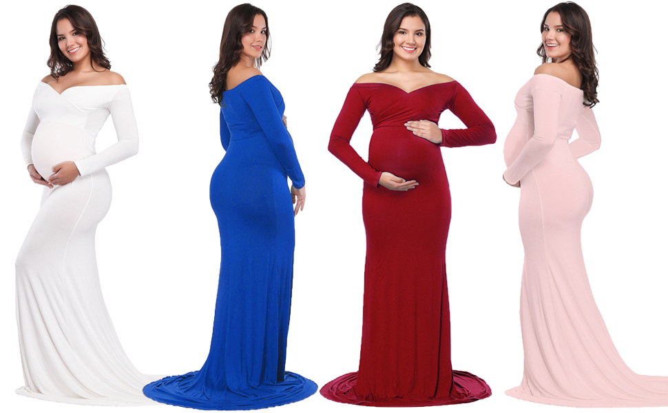 Dresses Official Website New & Beautiful Pregnant Womens Lace Short Sleeve Long Maxi Maternity Dress Photography Props
