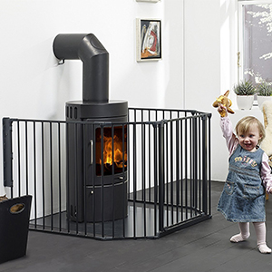 Teekland Baby Safety Gate Baby Protect Walls Fireplace Fence Dog