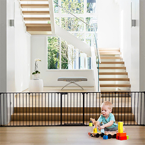 FOUR In ONE MULTIFUNCTIONAL(Baby Gate For Stairs)