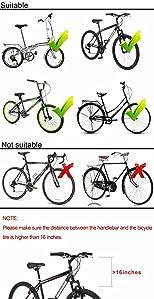 HOMEE Folding Rear Bike Basket Wire Mesh Fold-Up Detchable Front Bag Rear Hanging Bike Basket Bicycle Bag Cargo Rack for Mountain Bike Accessories ...