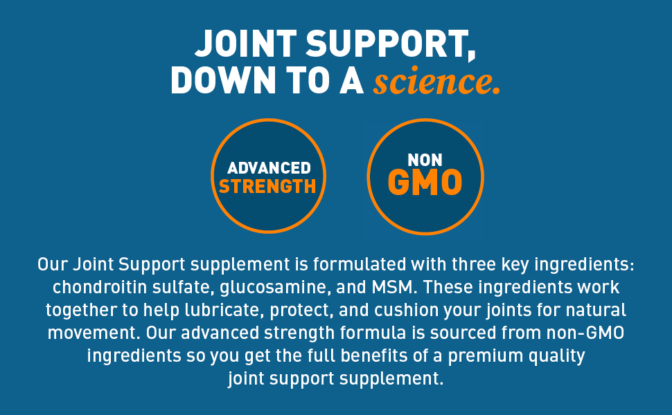 joint support, dr tobias, nonGMO