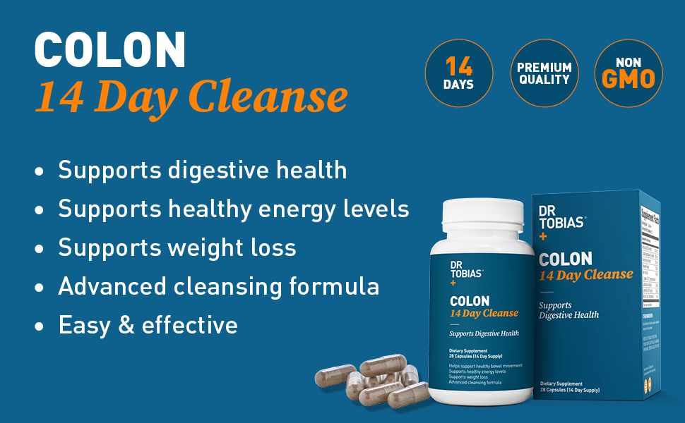 Dr Tobias, colon cleanse, colon 14 day cleanse, digestive health, weight loss