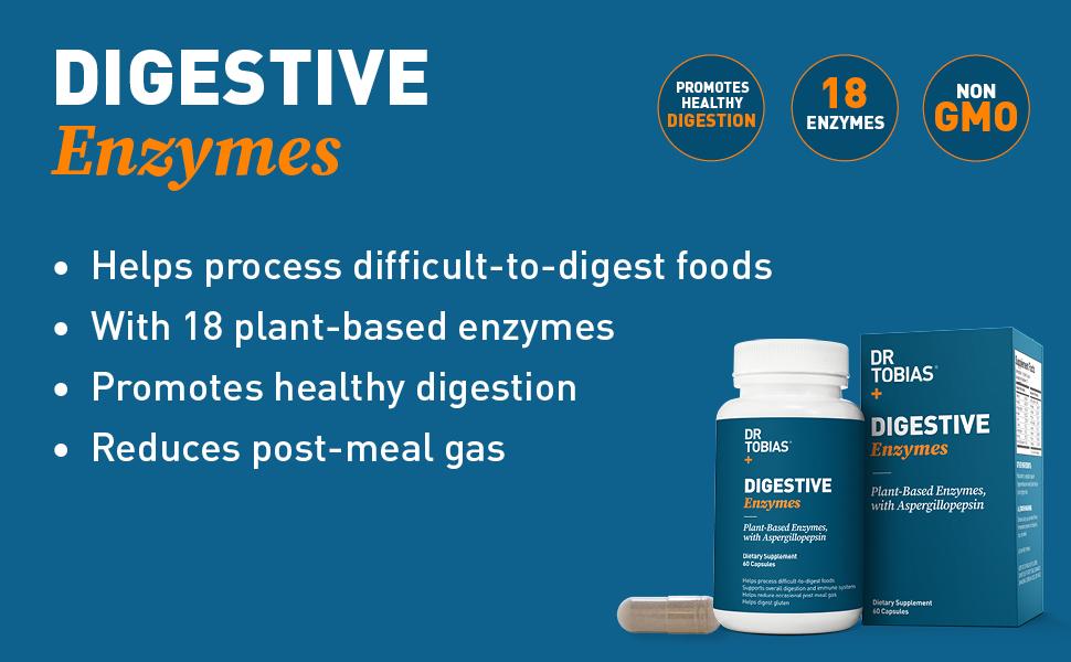 Amazon.com: Dr. Tobias, Enzimas súper digestivas a ...