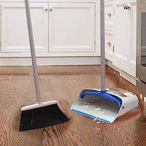 Angle Broom and Dustpan
