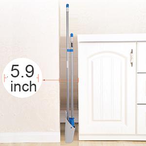 Compact Storage Broom Dustpan Combo