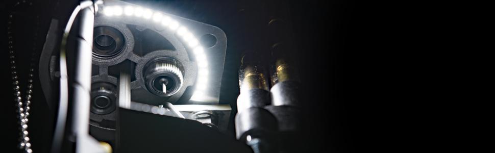 12LED super helle Licht UV Kleber Kurier Taschenlampe und Spritze CoatingT RSDE