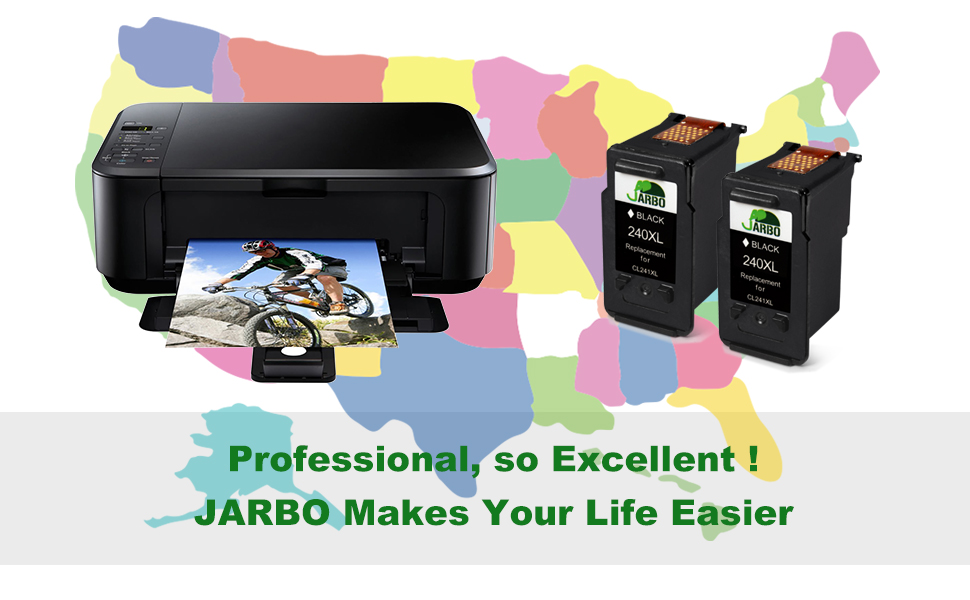 Amazon.com: Jarbo REMANUFACTURADO PARA CANON PG-240 X L CL ...