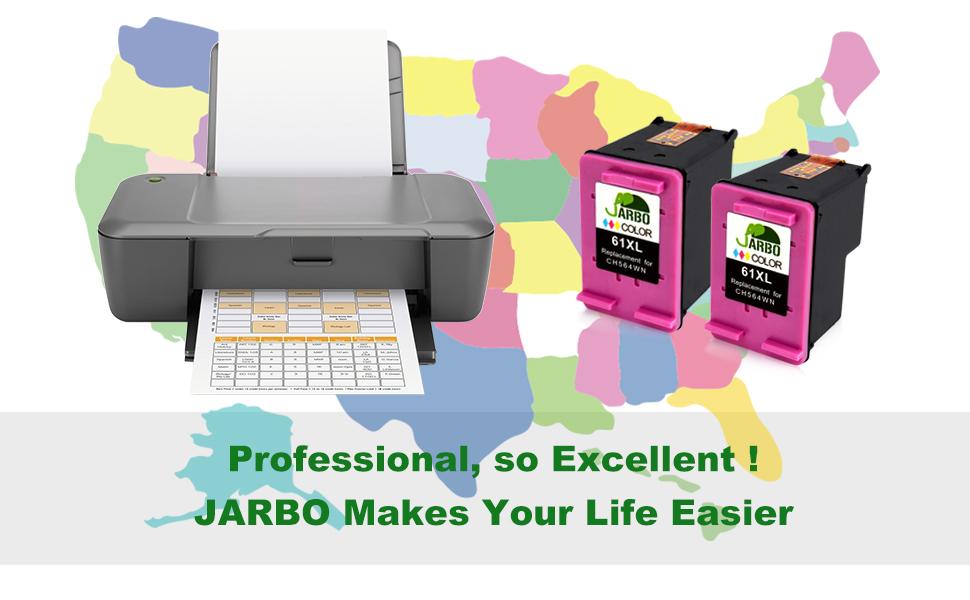 Amazon.com: JARBO Cartucho de tinta remanufacturado de ...