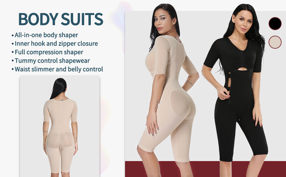 73d4843fd2 MISS MOLY Bodysuit Body Shaper Post Surgery Seamless Fajas .