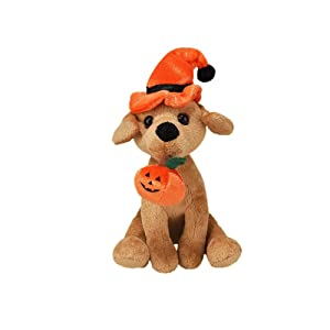 plush dog toys for Halloween stuffed soft realistic look  toy vivid clear color