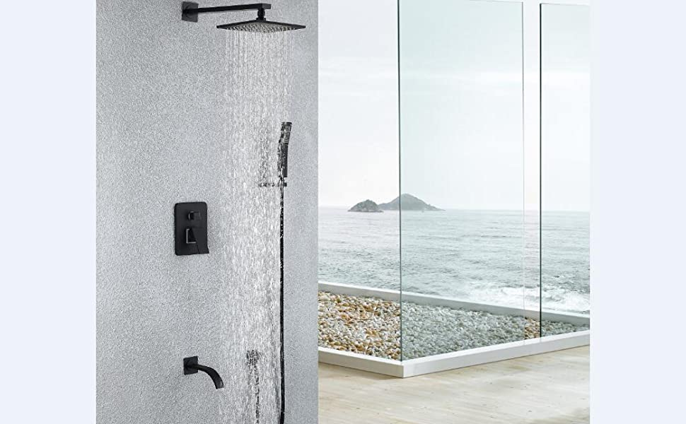 shower faucet systems