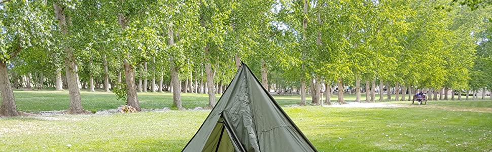 trekking pole tent, large tent, backpacking tent, 4 man backpacking tent, 4 person tent, easy tent
