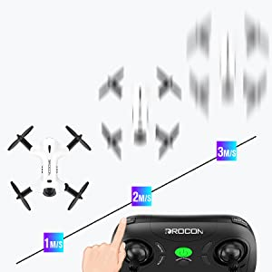 3 Speed Modes