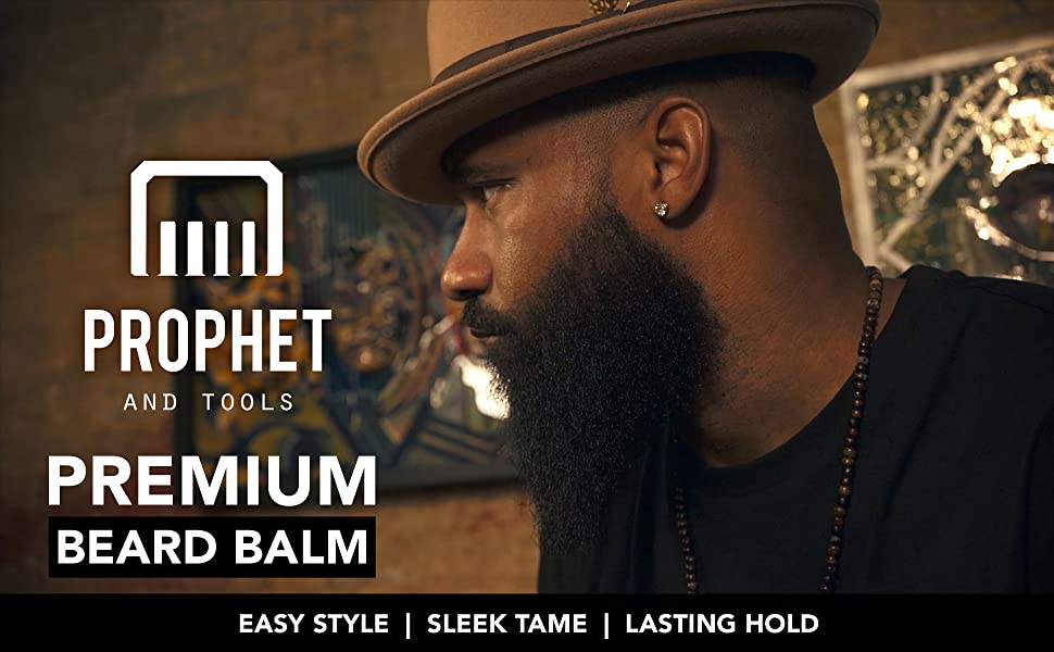 prophet and tools best beard balm style shape styling soft thicker fuller beards oil mustache hold