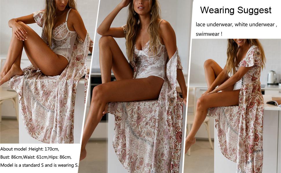 Bohemian Floral Printed Beach Party Maxi Dress