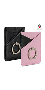 RFID Phone Card Holder With Ring