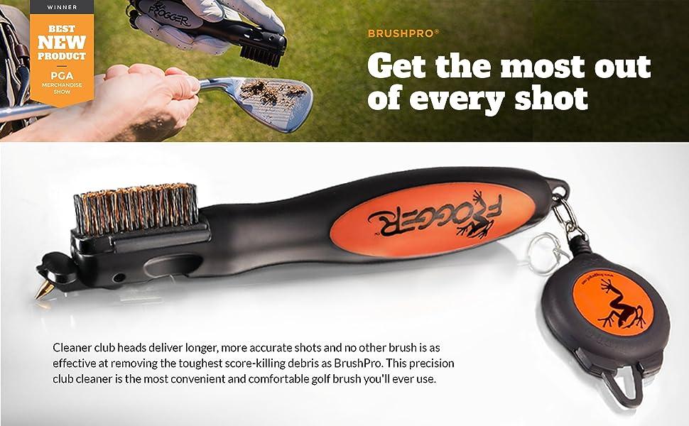 golf brush, frogger golf brush, golf tools, golf accessories, best golf accessories, best golf brush